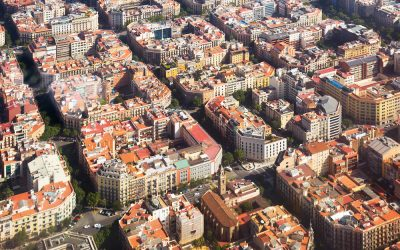 Que hace del Eixample una zona especial en Barcelona