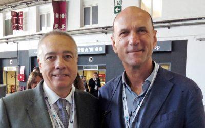 Immoaugusta  en el Barcelona Meeting Point con Pere Navarro | Responsable del Consorcio de la Zona Franca