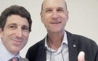 Aprendiendo de los mejores, como con Nello D'Angelo en el SIRA Connect